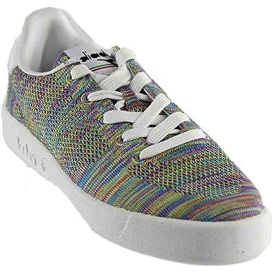cae3399fa3 Diadora Mens B.Elite SPW Weave Casual Athletic   Sneakers