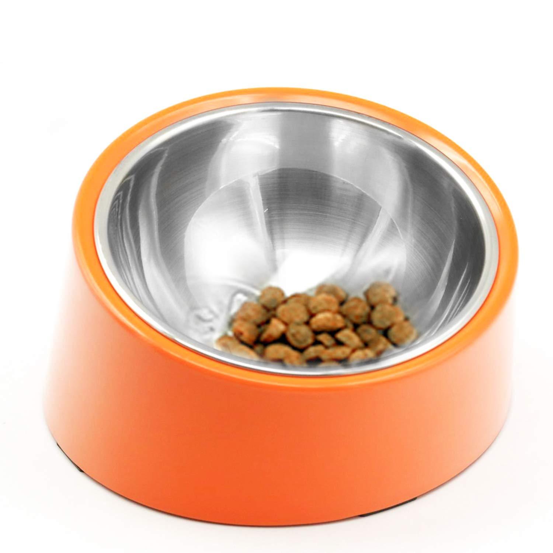 Liboom Cuencos Doble para Mascotas Lindo Perros Comedero de Ceramic para Gato Elevated Comedero Elevado con Soporte de Madera Antideslizante para Mascotas Cachorros y Gatos Blanco