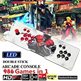 FUT 986 In 1 Pandora Box, Supprot HDMI&VGA Output Classic Double Stick Arcade Console Joystick Video Game, Relaxing Tap Intellectual Resources Games Best Gift for Children Friend