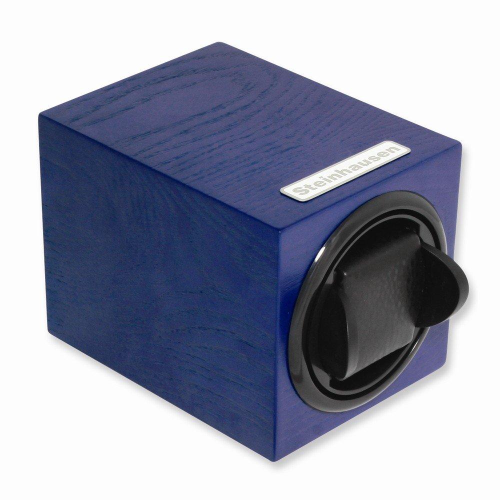 Best Birthday Gift Steinhausen Single Blue Wood Grain Watch Winder