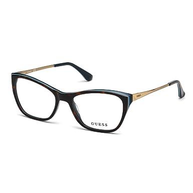 Womens GU6395_S58 Sunglasses, Brown (Havana), 60 Guess