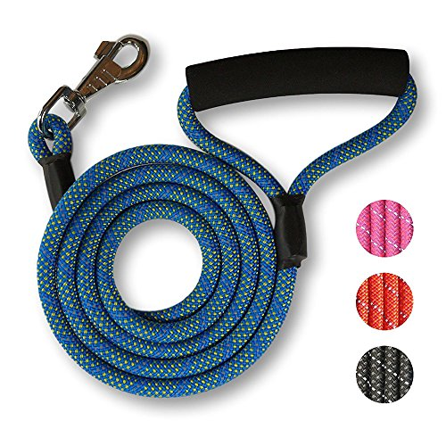 Great Grip Padded Handle Dog Leash