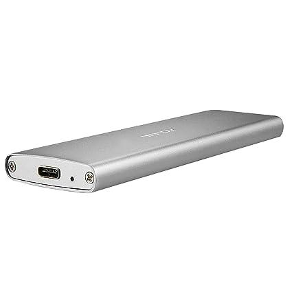 Lindy 43097 Caja para Disco Duro Externo M.2 SSD Enclosure Plata ...