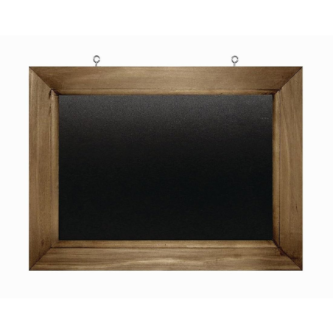 Black Chalkboard With Wood Frame 11 3/4'' x 15 3/4''