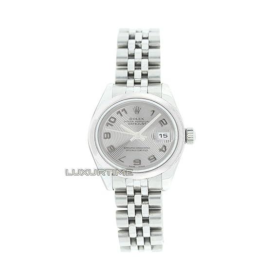 Rolex Datejust 179160 - Reloj de pulsera hembra automático, diseño con certificado de autenticidad