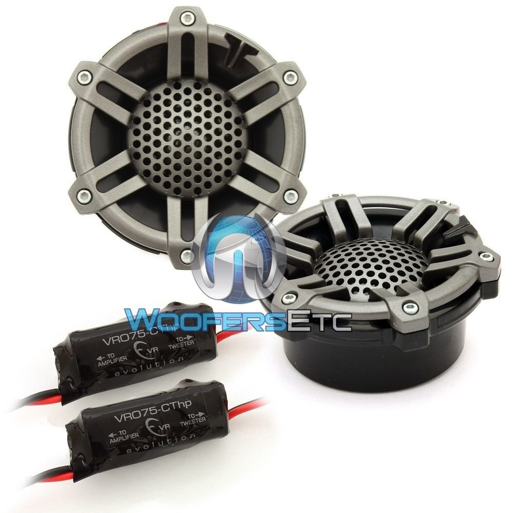 M100-CT-SG-TB 1'' Marine Silk Dome Tweeters with Sport Grilles