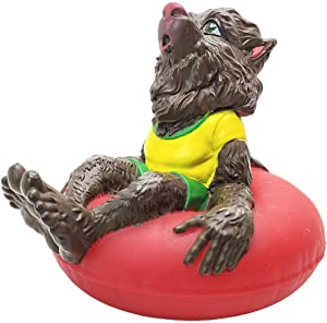 NOT ANOTHER RUBBER DUCKY! Wolfie - Premium Bath Toy Collectible - Classic Monsters & Halloween Themed - Perfect Present for Collectors, Celebrity Fans, Goth, and Horror Enthusiasts