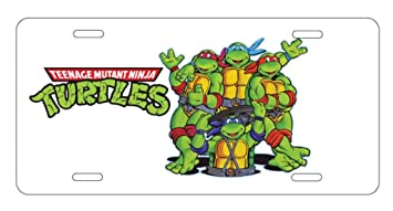 Amazoncom Panda Teenage Mutant Ninja Turtles License Plate License