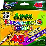Crayons 48ct. Boxed, Case Pack of 48, Ideal for Bulk Buyers