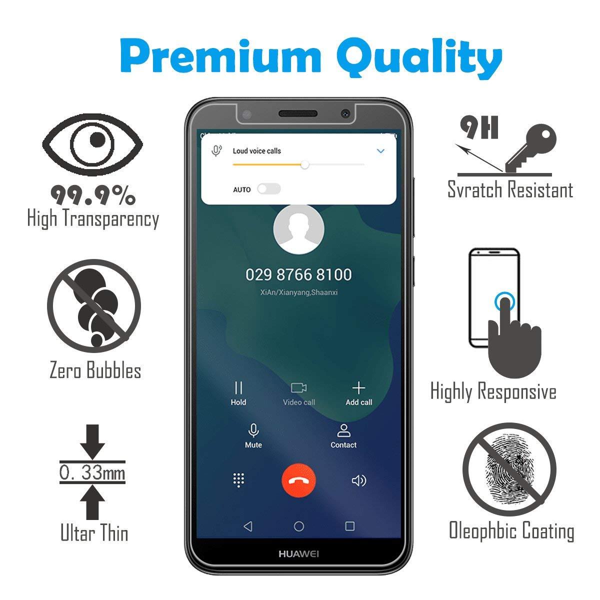 Amazon com: Huawei Y5 2018 / Y5 Prime 2018 / Honor 7s Screen