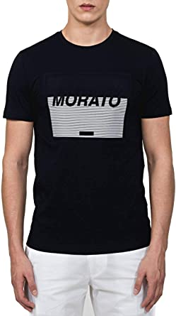 Antony Morato T-Shirt con Stampa Embossed Camiseta de Tirantes para Hombre
