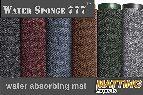 Water Sponge 777 Indoor Entrance Carpet Mat for Lobbies and Entranceways by MattingExperts (3x2, Green)