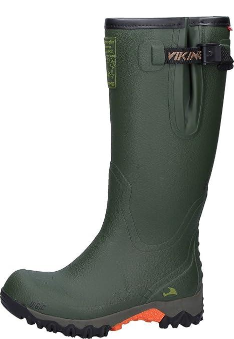 Victory II - Botas de agua, talla: 45, Color Verde Viking