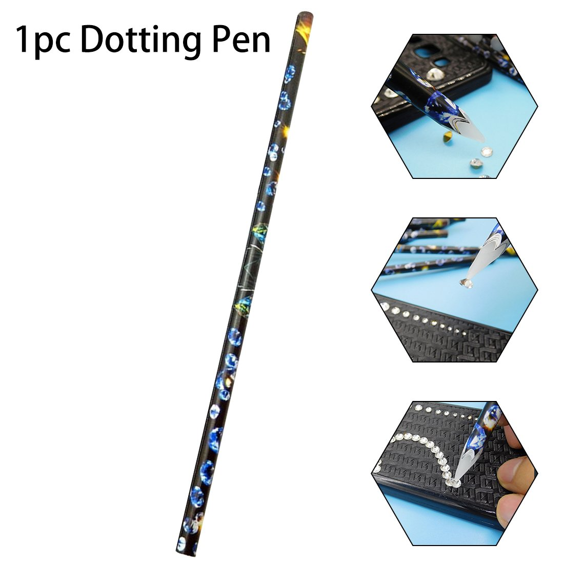 1PC Nail Art Manicure Dotting Pen Compatible With 3D Nail Decoration Tool Wax Pen ChenYao-Swansea