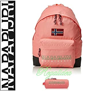 Napapijri Hack Backpack Pink School backpack leisure outing Travel + Pencil  Case.  Amazon.co.uk  Office Products