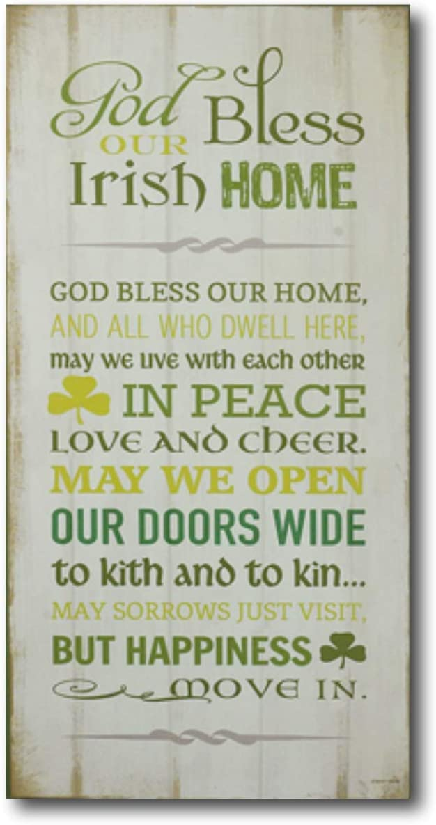 Abbey Gift Irish Home Wall Plaque