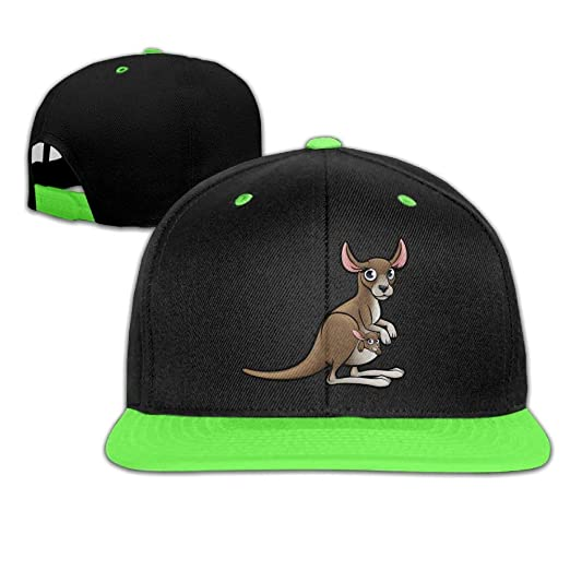 3b15c91b329 Amazon.com  Cartoon Kangaroo Mother Baby Hip-Hop Cap with Kids Baseball  Hats Boy Girls  Clothing