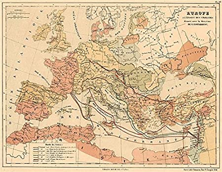 Crusades 1096 1270 Showing The 1st 8th Crusades Europe To Holy