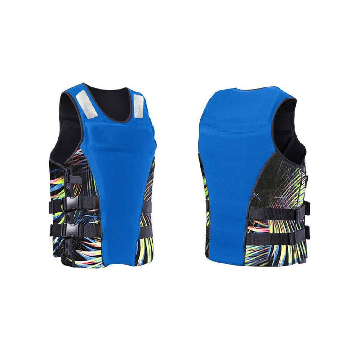blueee XSmall Yougou Adult Inflatable Swimming Vest Life Jacket for Snorkeling, Outdoor Play, Surfing, Size  M, S, XS, color  Black, blueee, Red Health