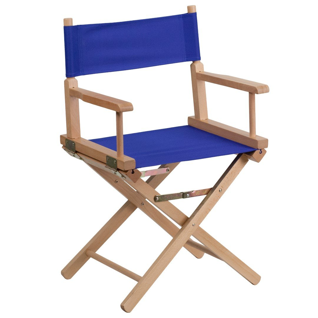 MFO Standard Height Directors Chair in Blue