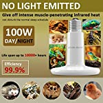 BYB – 100W 110V Ceramic Infrared Heat Emitter Brooder Coop Pet Infrared Lamp Bulb