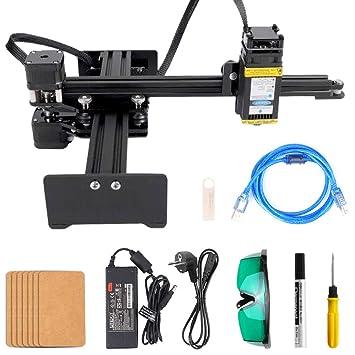 KKmoon 2.5W Máquina de Grabado La/ser Portátil, Mini Impresora ...