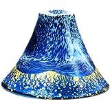 東洋佐々木ガラス 冷酒グラス ブルー 60ml 招福杯 富士山 金紺 白まぶし 日本製 42385G-SHB-WEW