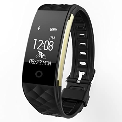 59807ead54a Yarrashop Fitness Tracker Sport Fitness Watch - Waterproof Smart Wristband  with Sleep Monitor and Activity Trackers