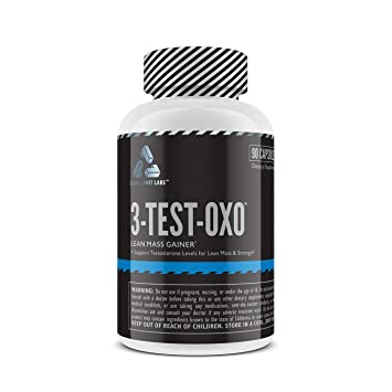 Complete Nutrition Legal Limit Labs 3-Test-OXO, Herbal Testosterone  Supplement, Muscle