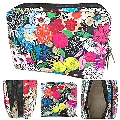 LeSportsac Sunlight Floral Extra Large Rectangular Cosmetic Bag, Style 7121/Color E141