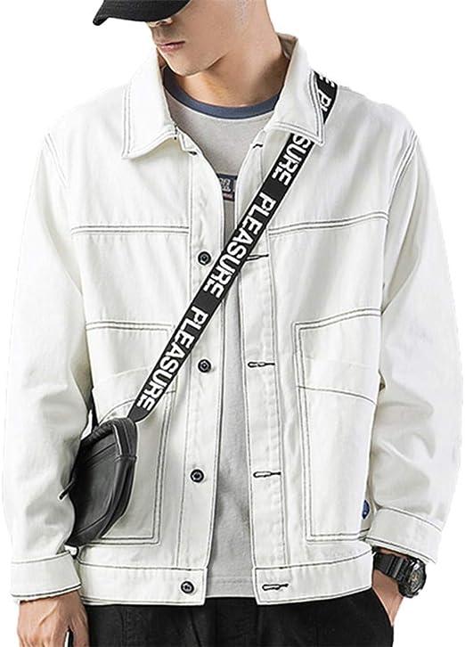 [ZENGTU]デニムコート男性春と秋のファッションがゆったりしています