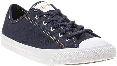 Star Dainty Ox Womens Sneakers Navy