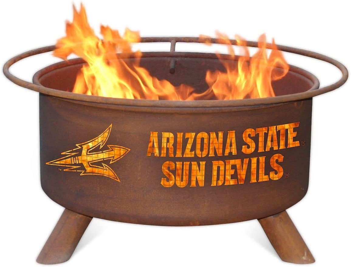 Patina Products F213, 30 Inch Arizona State Fire Pit