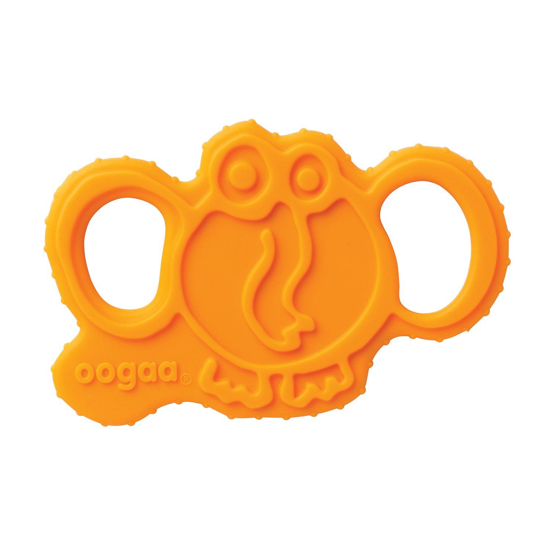 注文割引 oogaa Baby Silicone Elephant Teether oogaa - Teether Easy Clean, oogaa Baby Safe - 8 x 3.5in - Orange by oogaa B0752YY28R, タタミ工場こうひん:1aaff7cb --- a0267596.xsph.ru