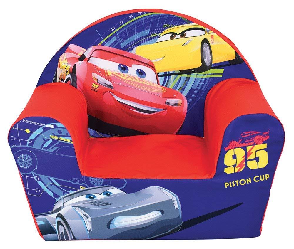 Fun House 712632 Cars – Sillón Club de Espuma para niños