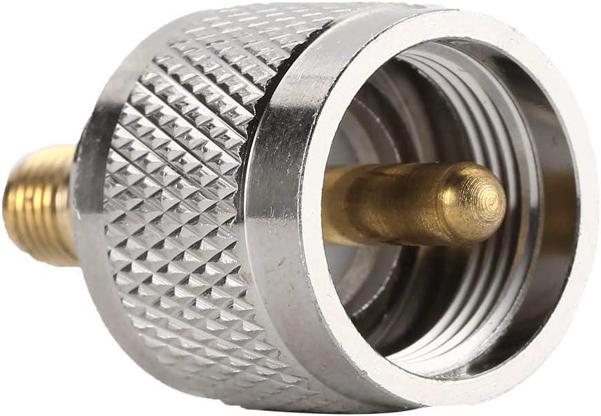 Tivolii RF coaxial Coax Adapter SMA Female to UHF Male PL-259 PL259