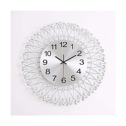 Amazon.com: Modern Simple Clocks Nordic Bedroom Wall Clock ...