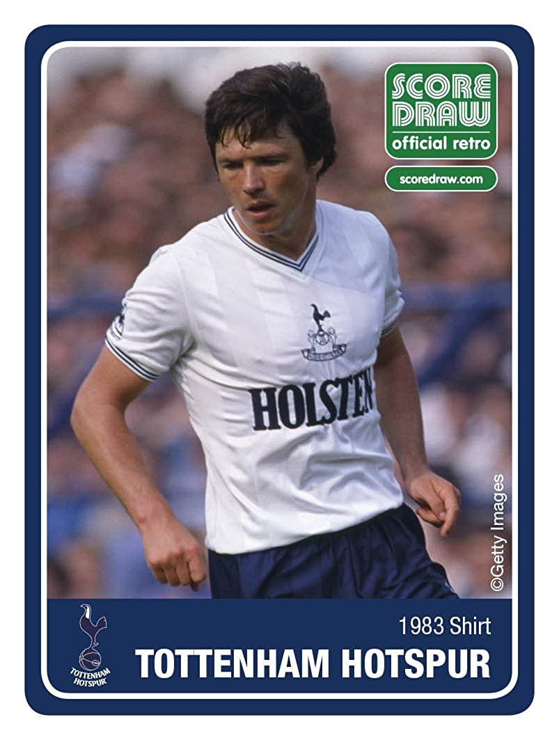 ef86abdcc Score Draw Tottenham Hotspur 1983 Shirt: Amazon.co.uk: Clothing