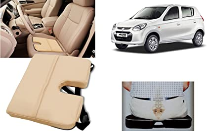 Awe Inspiring Autopearl Car Seat Rest Cushion For Alto 800 Beige Amazon Andrewgaddart Wooden Chair Designs For Living Room Andrewgaddartcom