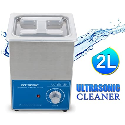 Amazon Gt Sonic Ultrasonic Cleaner 2l Stainless Tank With