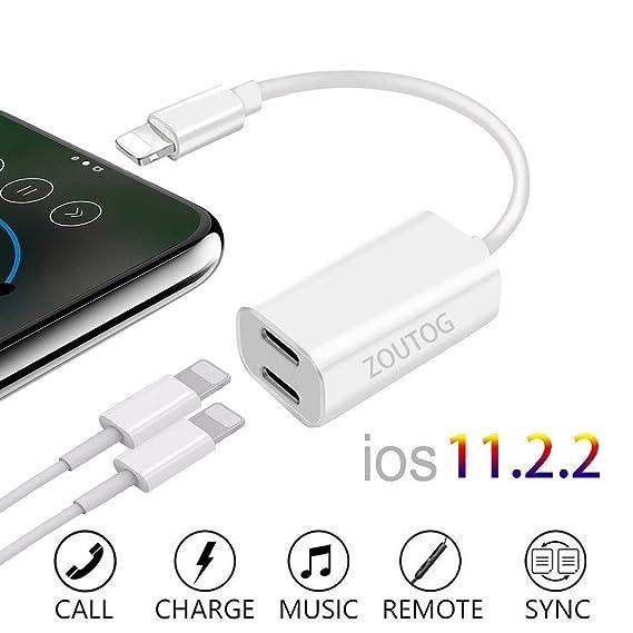 Amazon Dual Lightning Adapter ZOUTOG 2 In 1 Headphone Audio