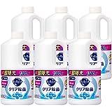 【ケース販売】キュキュット 食器用洗剤 クリア除菌 グレープフルーツの香り 詰め替え 大容量 1380ml×6個