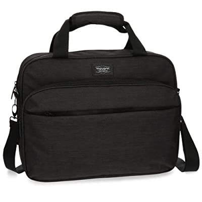 85%OFF Ottawa Briefcase, 42 cm, 15.83 liters, Black (Negro)