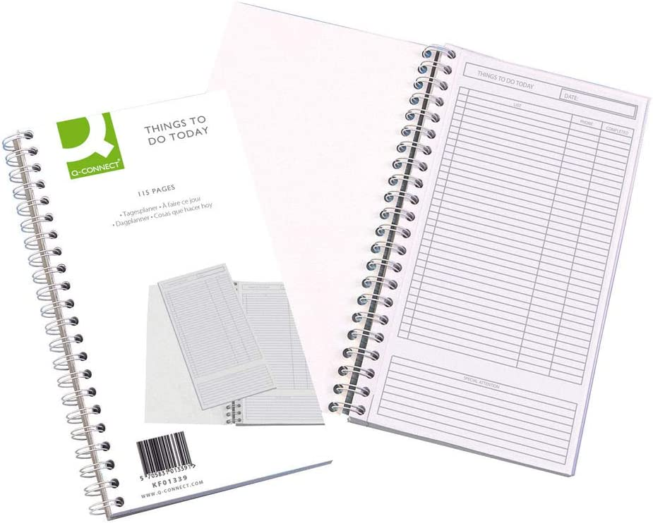 Things To Do Today Pad Note Memo 114 Sheets per Book