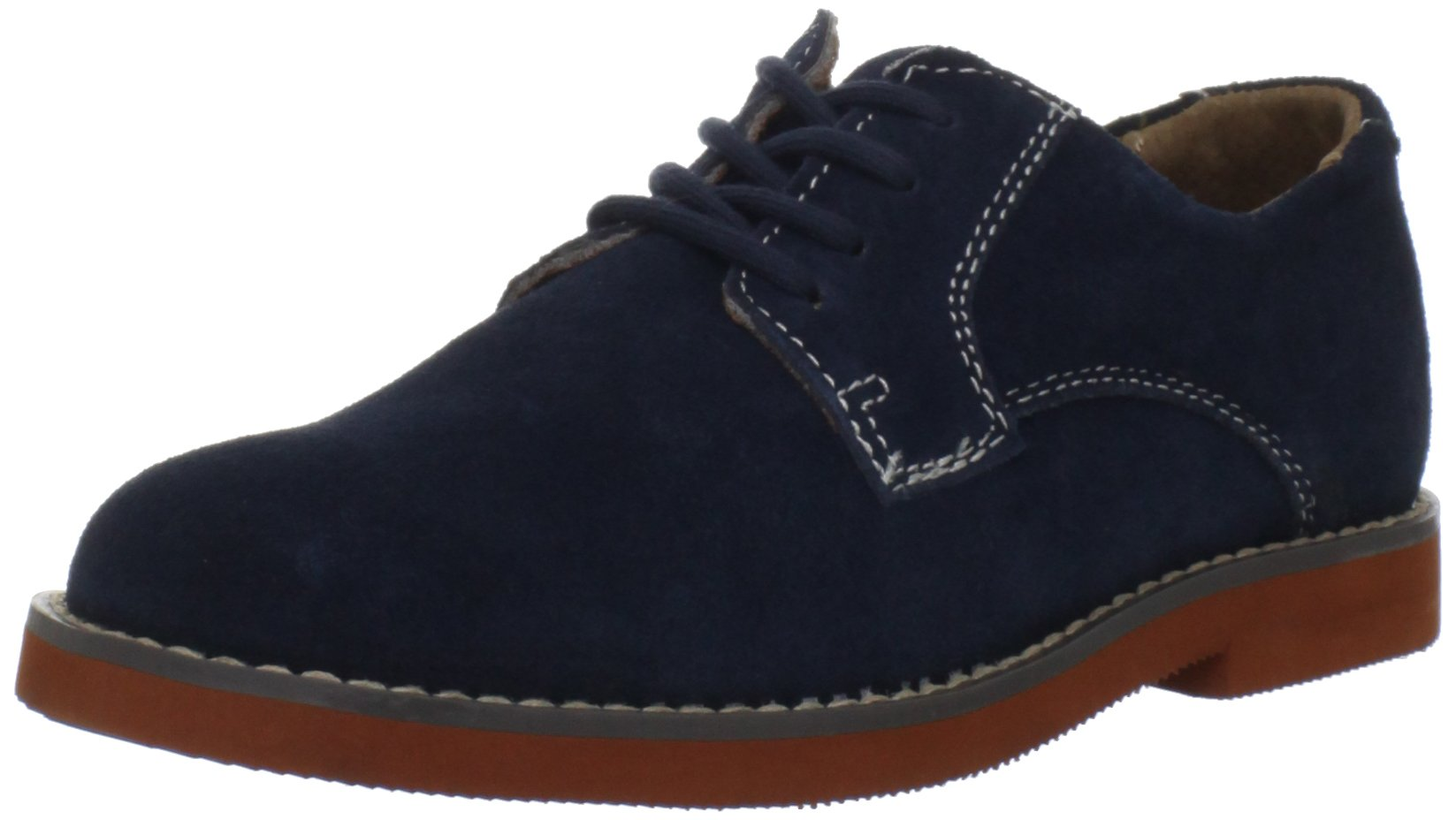 Florsheim Kids Kearny JR Oxford (Toddler/Little Kid/Big Kid),Navy Suede,2 M US Little Kid