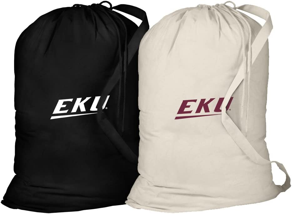 Broad Bay EKU Laundry Bag -2 Pc Set- Eastern Kentucky Clothes Bags