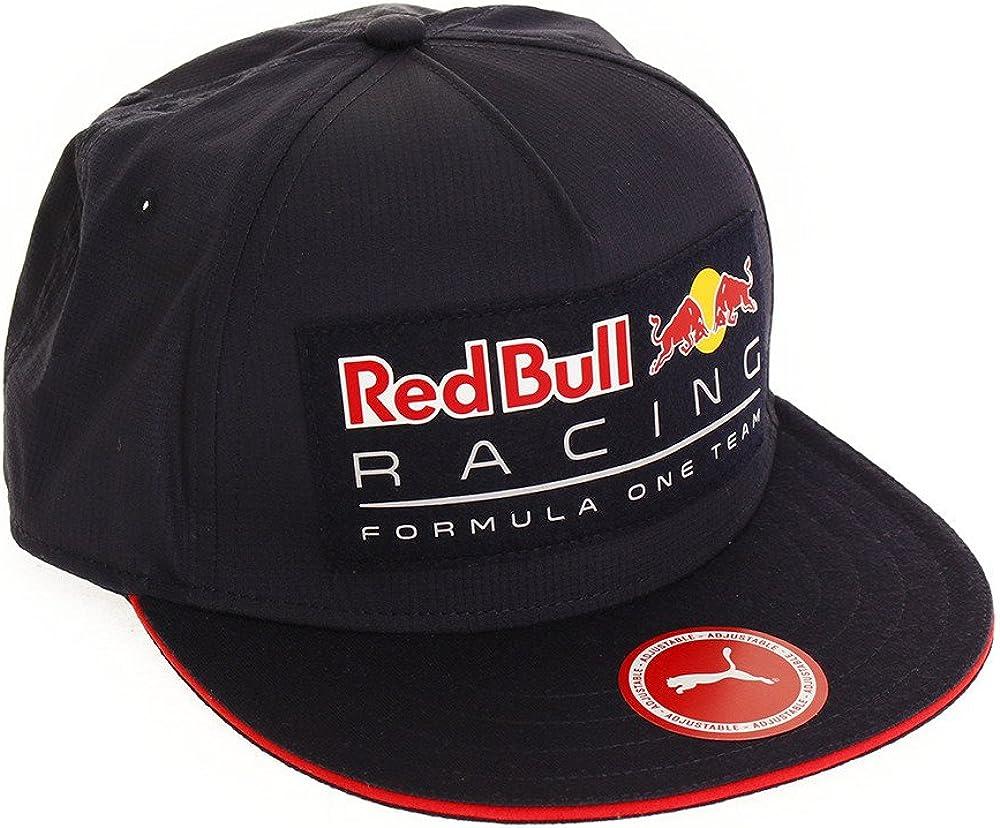 Red Bull Racing Adultos Puma Lifestyle Flat Brim 2018 Cap, Night ...