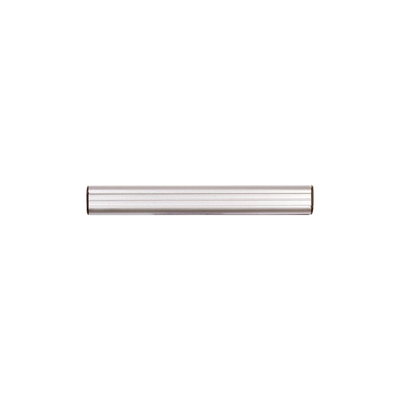 ADVANTUS Grip-A-Strip Display Rail, Full Size, 6 Feet Long, Satin Finish Aluminum (2012) Advantus Corp.- Office