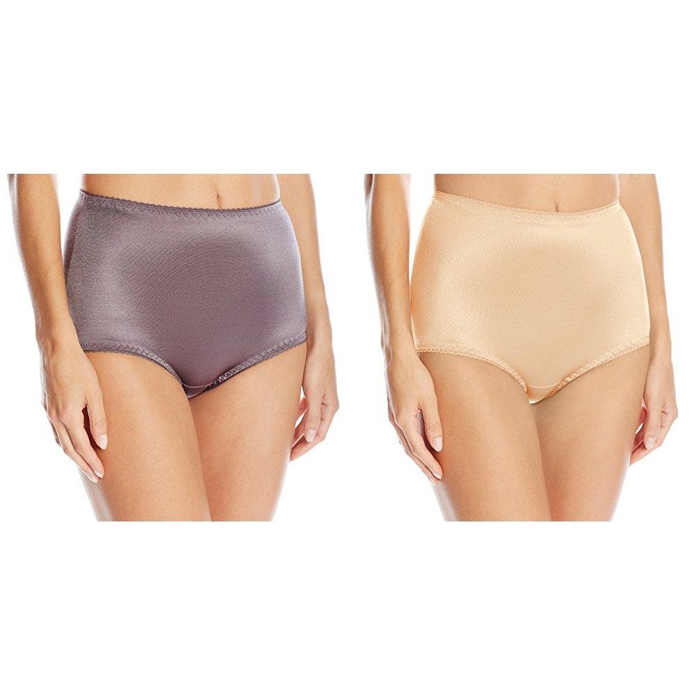 3e8e3a95d2ed2 Vassarette Women s Undershapers Light Control Brief 40001 at Amazon Women s  Clothing store