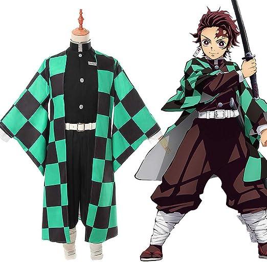 SHIXUE Disfraz Cosplay Kamado Tanjirou Adulto Disfraz De Halloween ...